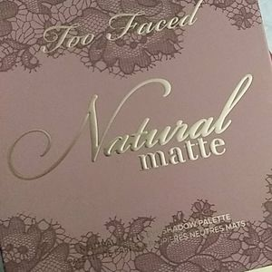 "🌼Too Faced ""Natural Matte"" Palette🌼✨"